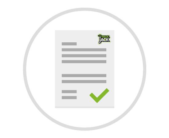Verarbeitungsvertrag TrackJack Germany