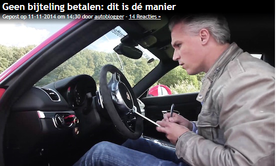 Video Autoblog Rittenregistratie