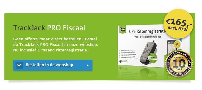 PRO Fiscaal - kilometerregistratie