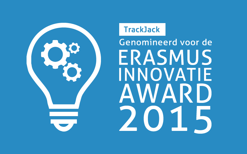 TrackJack Erasmus Innovatie Award 2015