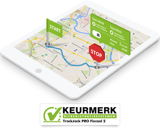 Kilometerregistratie routes