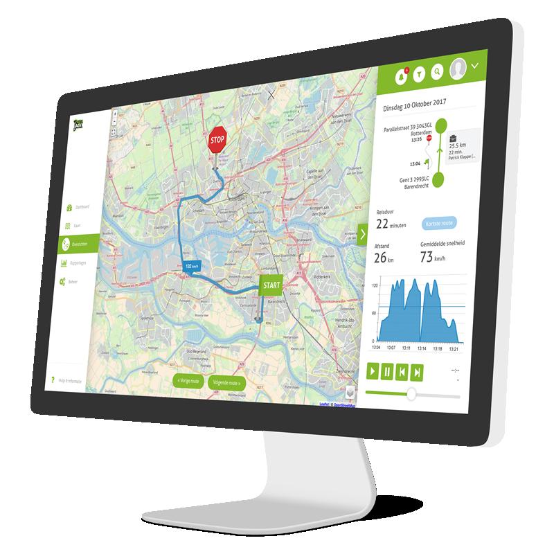 Kilometerregistratie routes