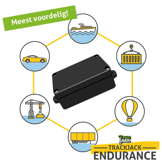 Gebruik de Endurance voor uw boot, auto, container, schip en meer