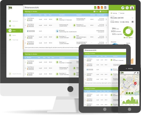 Kilometerregistratie app - online en app