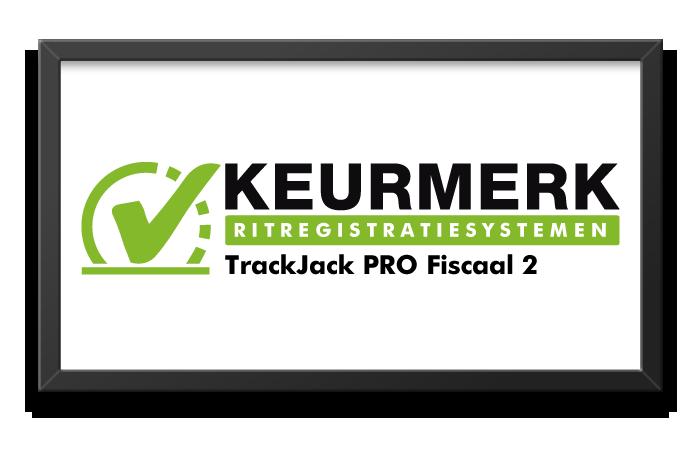 Keurmerk riregistratiesystemen - TrackJack Pro Fiscaal 2