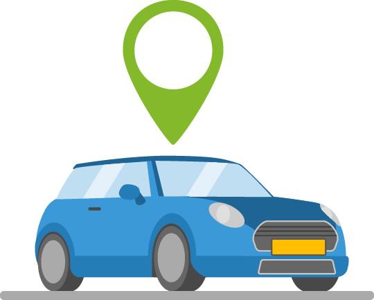 GPS Locatie materieel