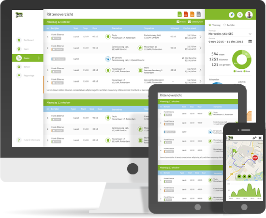ZZP rittenregistratie - online en app TrackJack