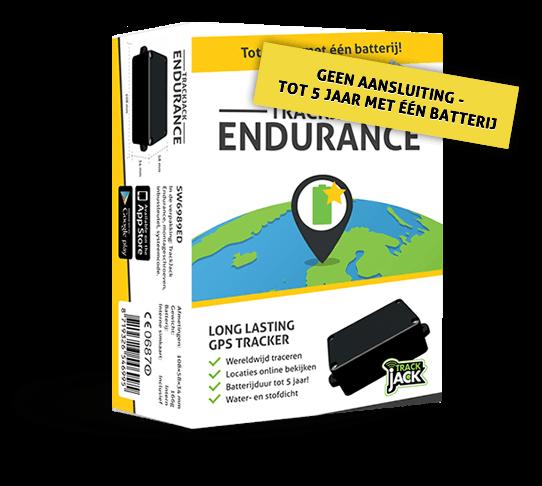 Langwerkend GPS Track en trace systeem - TrackJack Endurance