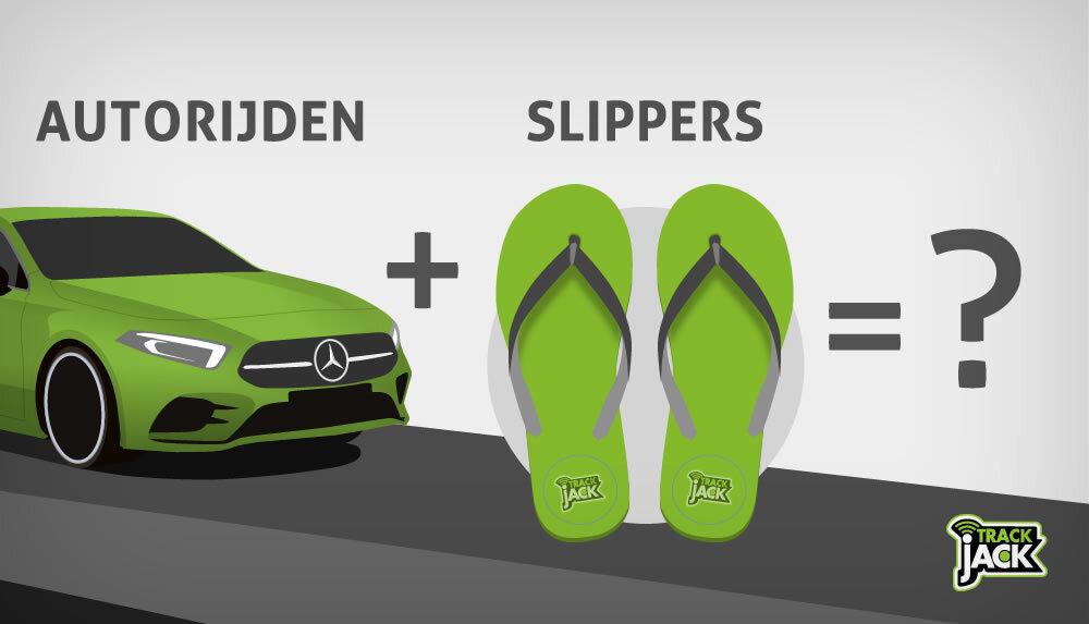 Autorijden Slippers