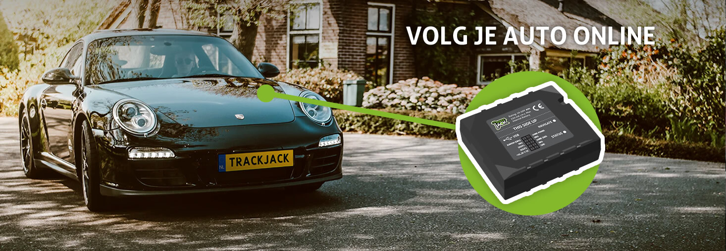 GPS autotracker - track en trace voor je auto