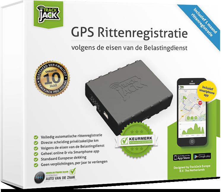 TrackJack PRO Fiscaal 2. Rittenregistratie voor de Belastingdienst