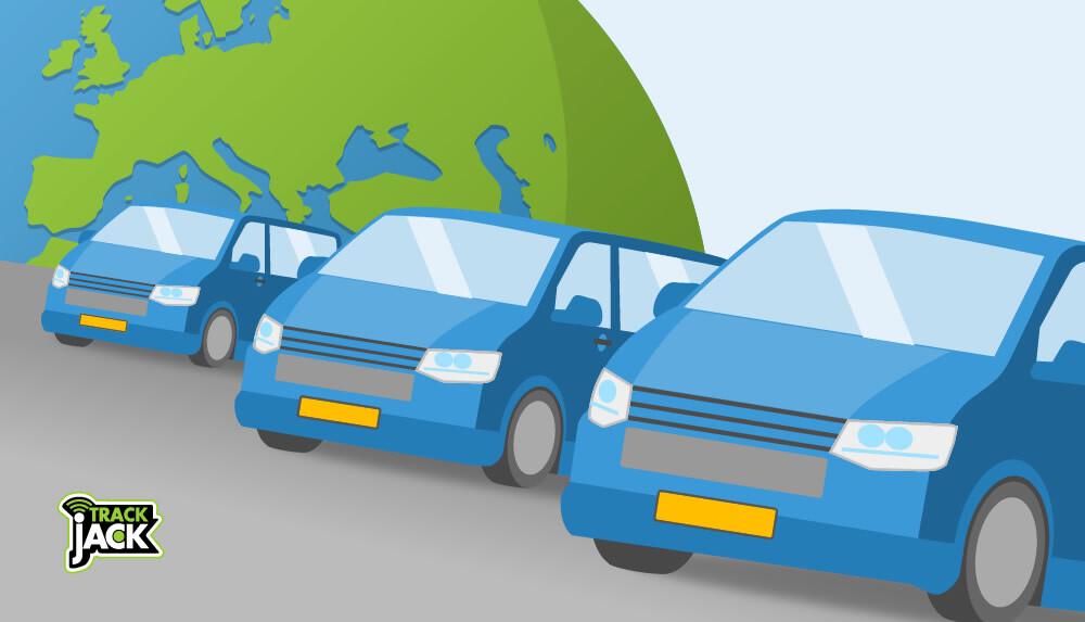 ritregistratie - Enorme groei van bestelwagens
