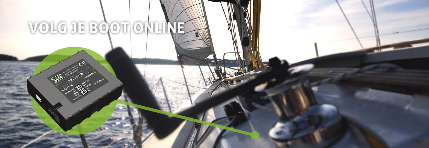 GPS Tracker boot - volg jouw boot met TrackJack