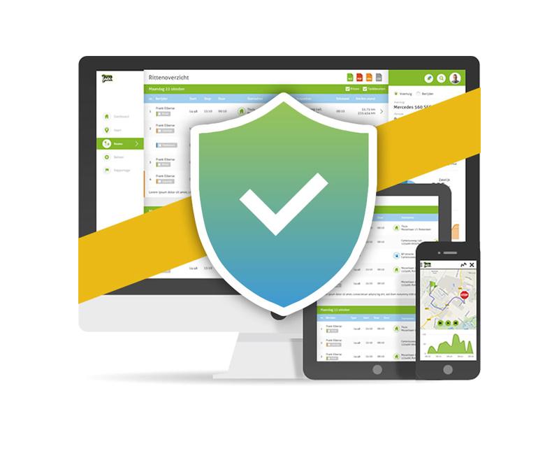 Kilometerregistratie avg proof privacy