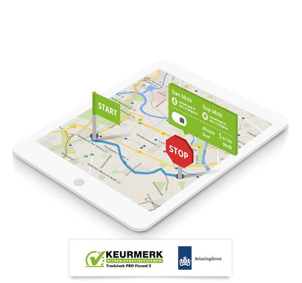 kilometerregistratie met belastingdienst keurmerk