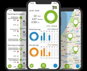 TrackJack app peilzender