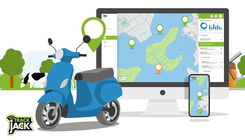 beste gps tracker jetski en scooter