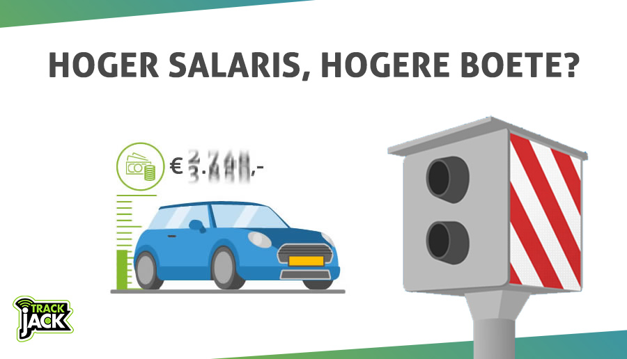 gps autotracker hoger salaris hogere boete