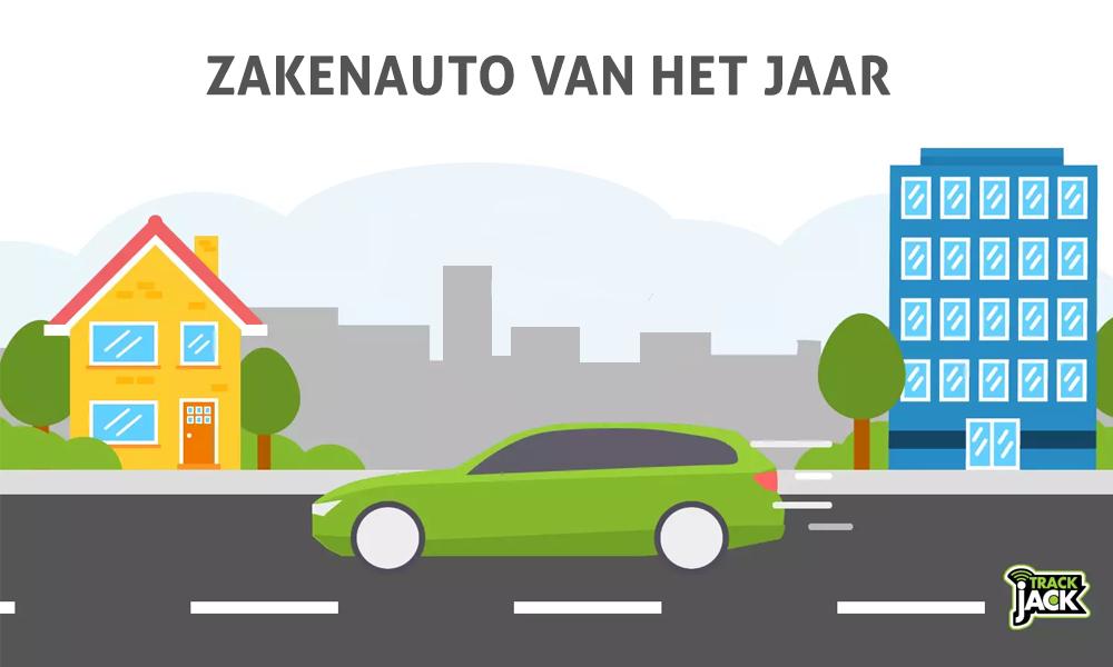 zakenauto van het jaar km registratie